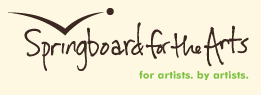 Springboard for the Arts Logo